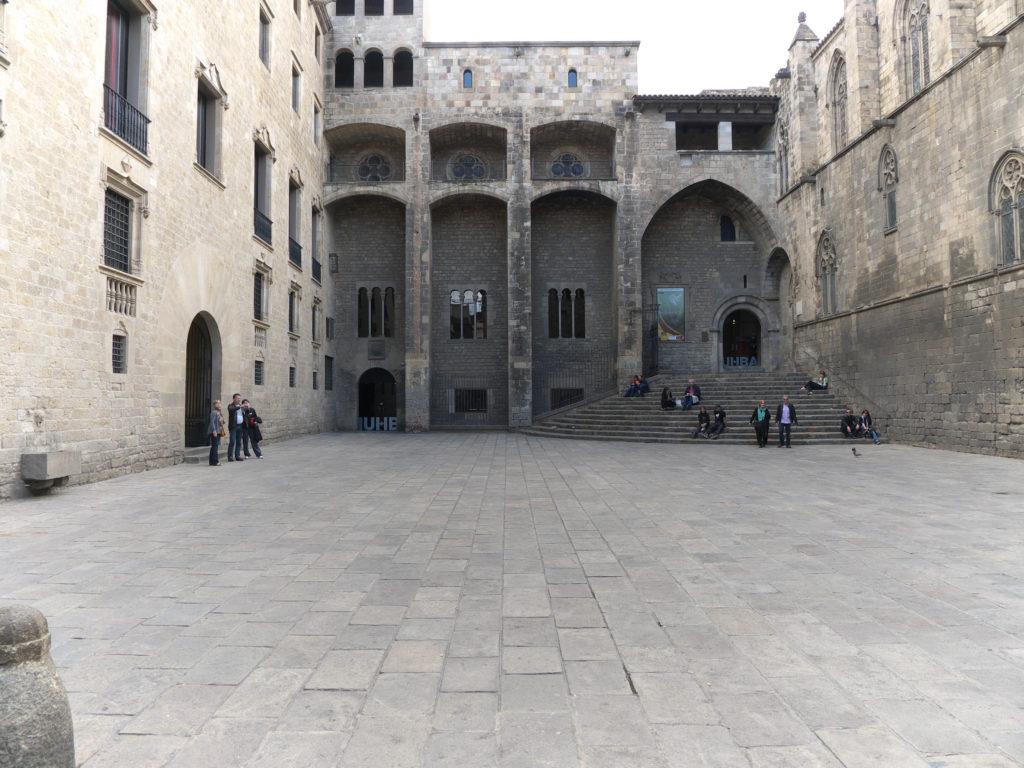Plaza_del_Rey._Barcelona