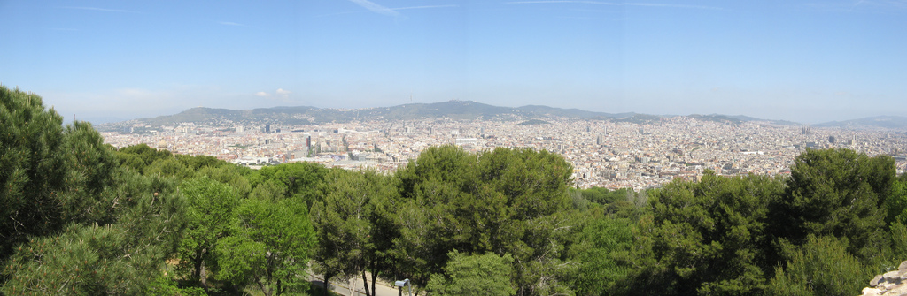 001 view from montjuic barcelona