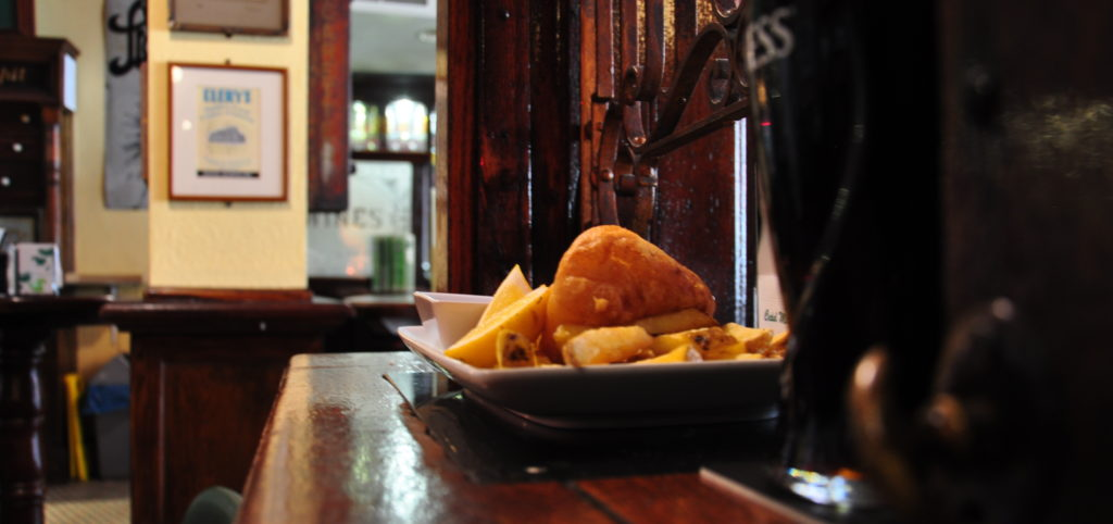 irish pub fish and chips