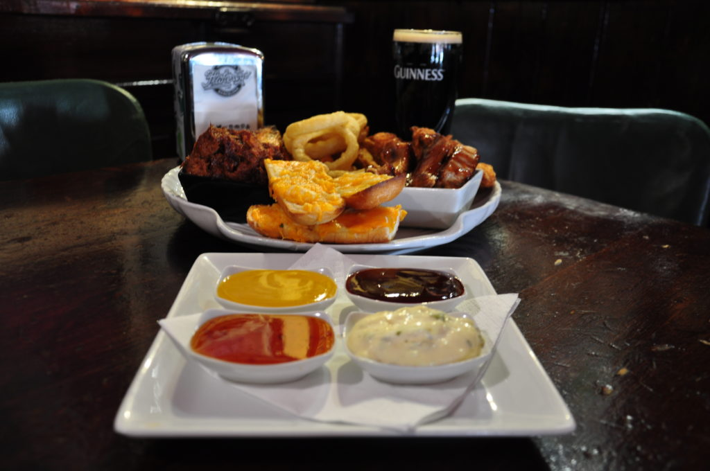 irish pub platter