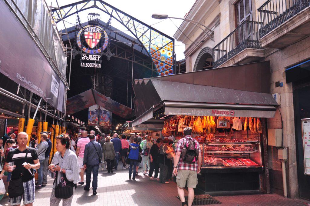 Rambla de las Flores Mercat de la Boqueria Barcelona 5