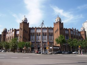 La Monumental Barcelona's Famous Bull Fighting Ring